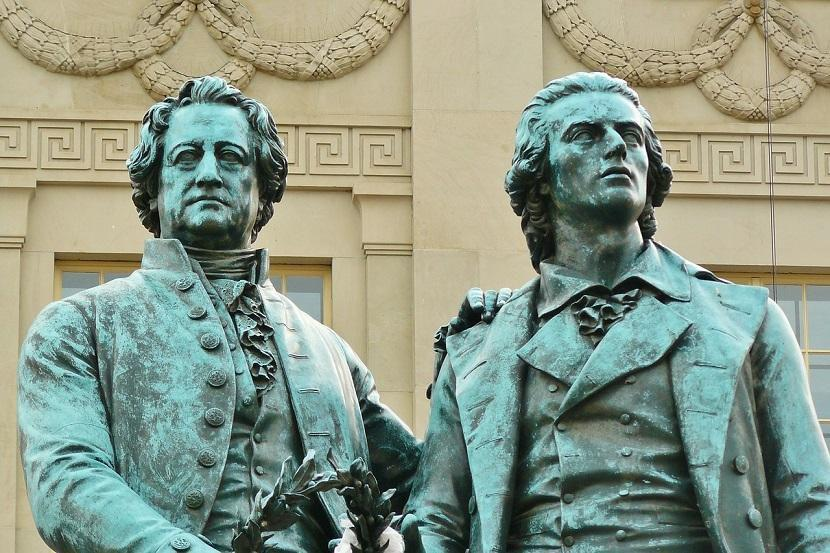 SHELLER AND GOETHE